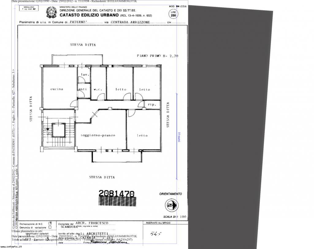 Planimetria Casa Con Misure planimetrie e fattore di scala
