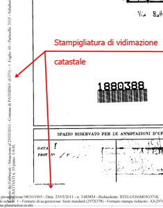 Planimetria catasto visure catastali online for Come planimetrie costruite