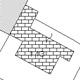 Retinatura a mattoni nelle mappe catastali