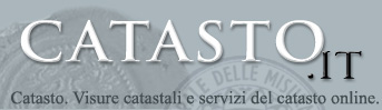 Catasto, visure catastali online